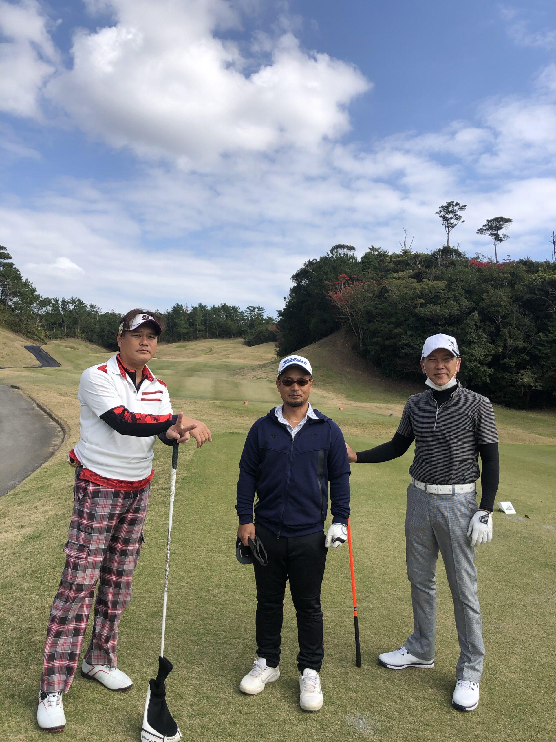 【ブログ】ゴルフコンペ